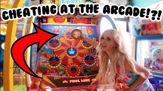 CHEATING AT THE ARCADE = UNLIMITED JACKPOTS!?!