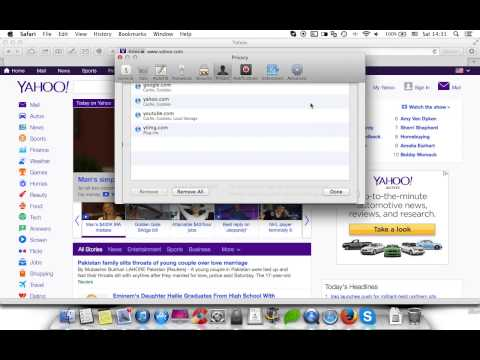 How to clear cache and cookies in Safari web browser