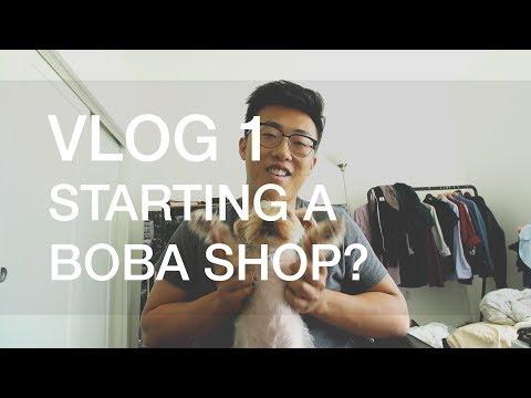 VLOG 1   Starting a boba shop?!