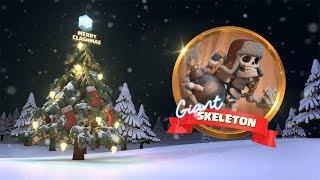 Clash of Clans: Giant Skeleton Returns! (Clashmas Update 2017)