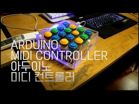 MAKING ARDUINO uno MIDI CONTROLLER with ARCADE BUTTON (100% works!) with usb