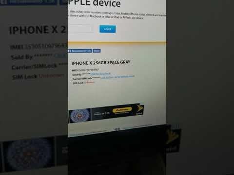 VERIZON IPHONE X 256GB UNPAID & REPORTED IMEI REPAIR PT2