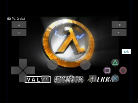 Play! emulator ios 11 (Half-Life) iPhone 6 (Gameplay) Playstation 2