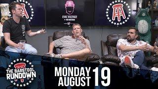 Raiders Finally Get Antonio Brown To Practice August 19 2019 Barstool Rundown