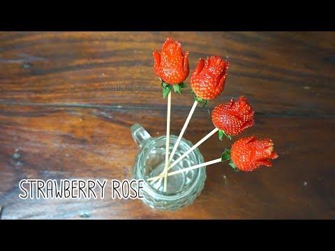 Thai Foods | Strawberry Rose
