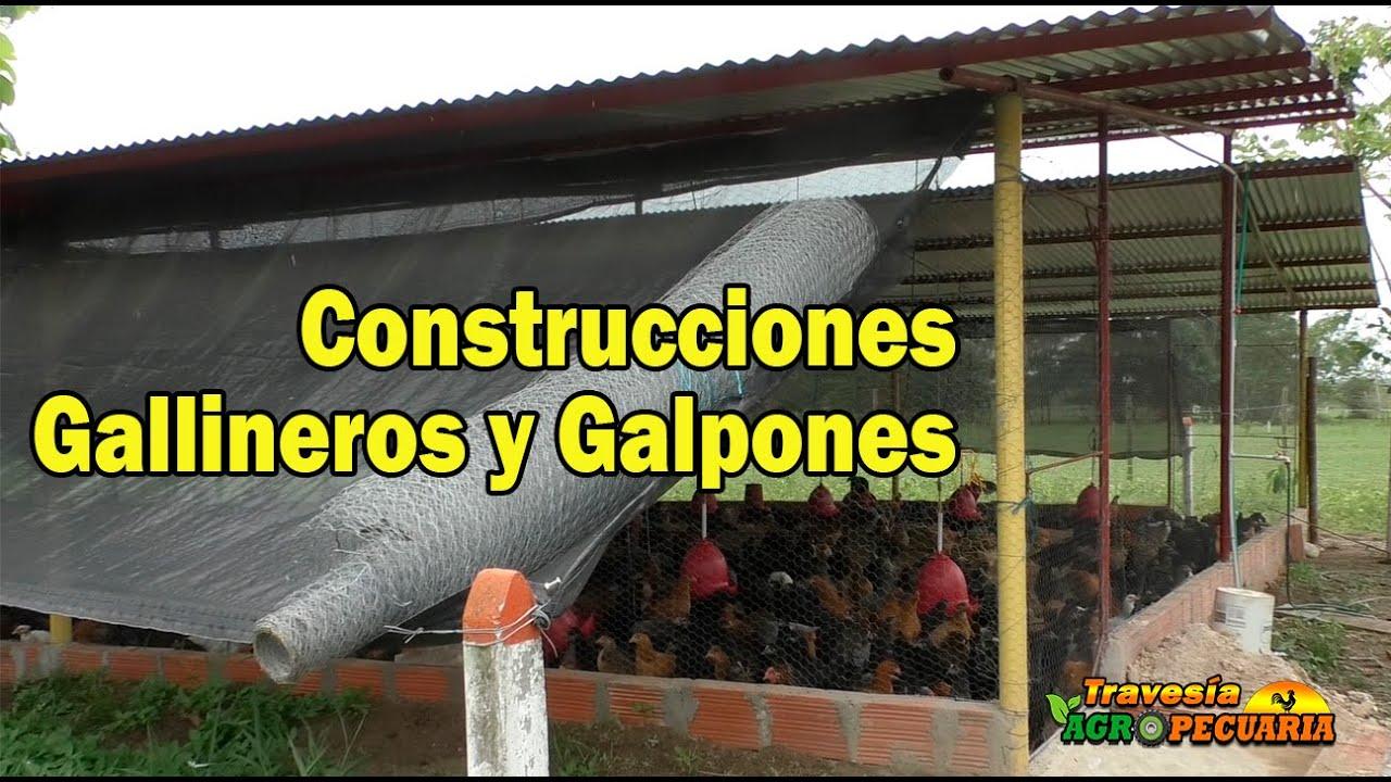 CONSTRUCCIONES DE GALLINEROS Y GALPONES