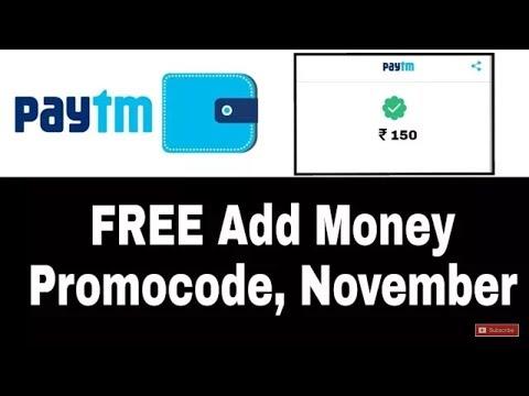 New Paytm Promocode in November  100% CashBack on Ticket getway