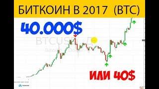 КУПИТЬ! Bitcoin BTC 4400$ -  Цель  40.000$ или 40$ Грамотный разбор графика!
