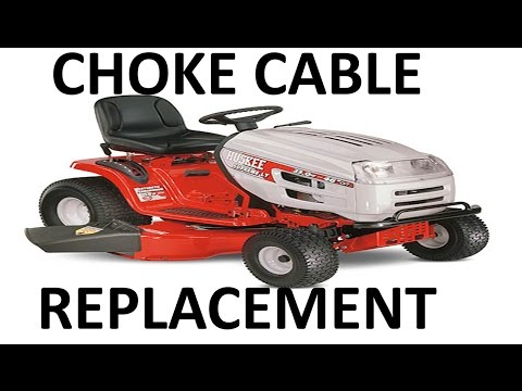 MTD/Huskee Lawnmower Choke Cable Replacement/Removal - EASY
