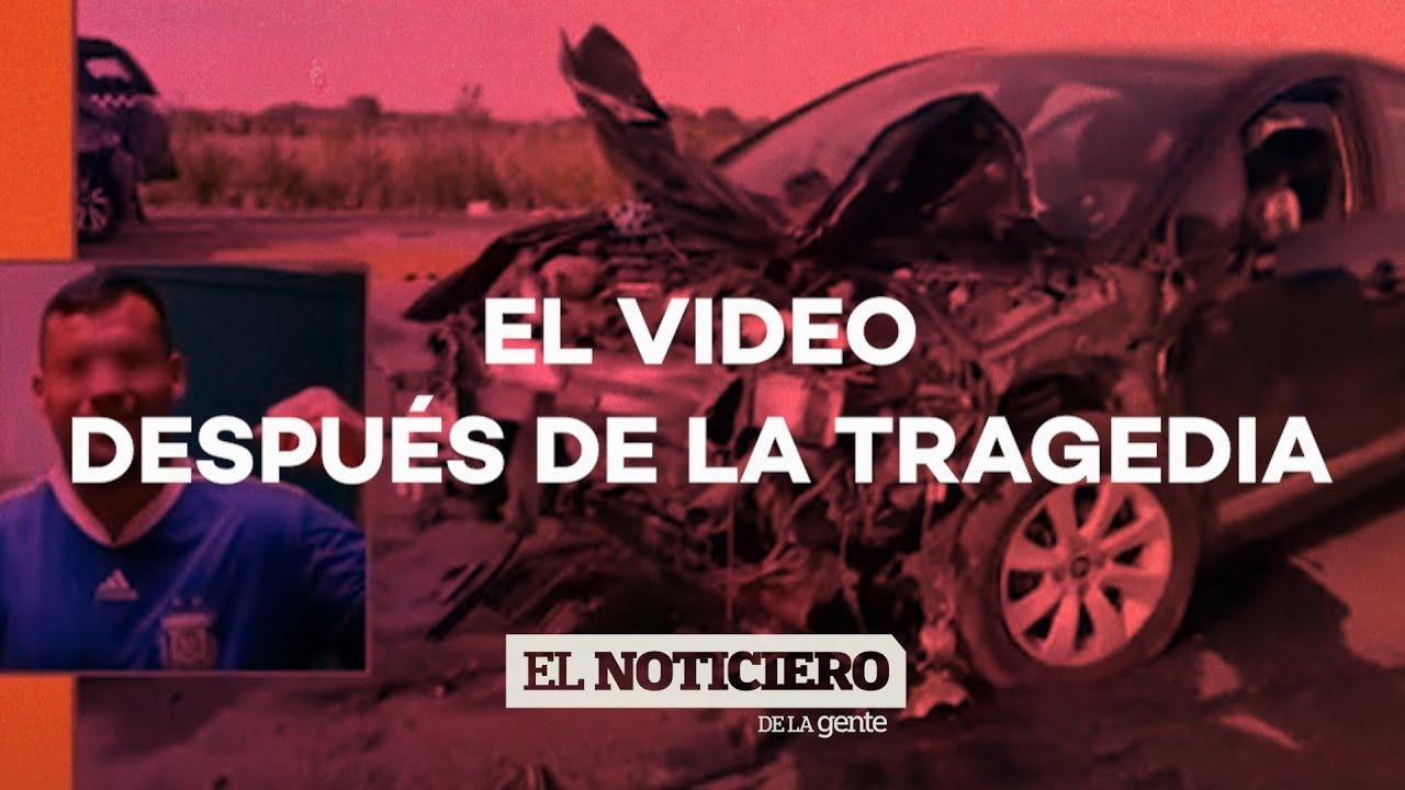 Choque múltiple en San Vicente: el VIDEO DESPUÉS DE LA TRAGEDIA - El Noti de la Gente