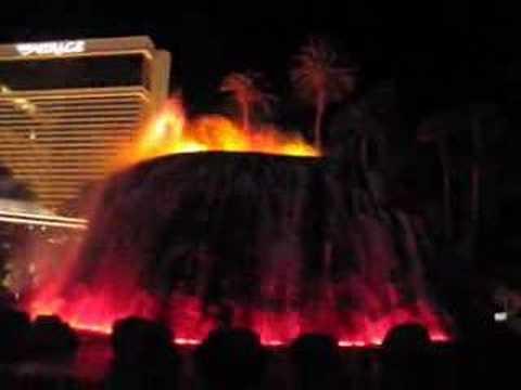 Fake Volcano Eruption