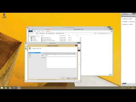 [How To] Scheduled shutdown/reboot/logoff in Windows 8 / Windows 8.1[short]