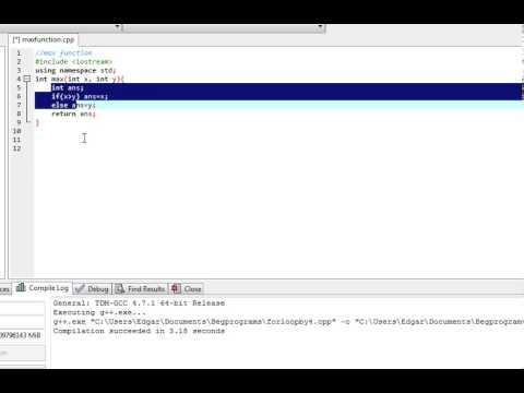 C++ program: Max Function