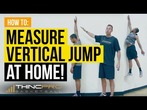 How to Properly MEASURE and TRACK Your VERTICAL JUMP at Home!