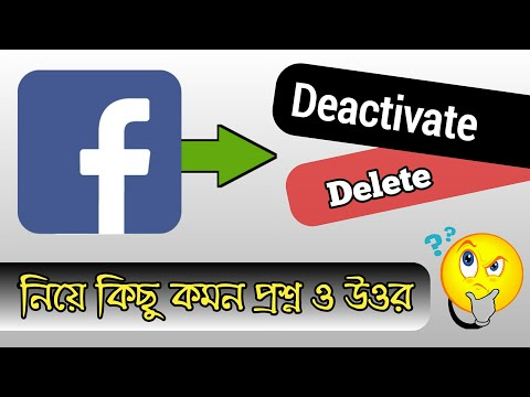 Some common questions about Facebook Account Delete and Deactivation with Answers.