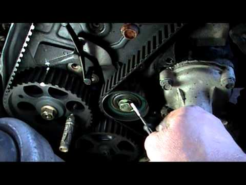 vauxhall vectra 1,7 turbo diesel timing belt installation