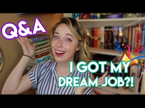 Q&A: Getting My Dream Job, College, and MOVING?!