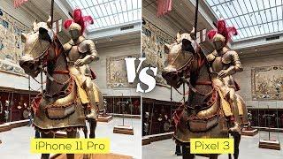 Pixel 3 versus iPhone 11 Pro real world camera comparison