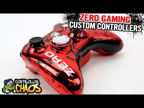 Xbox 360 ZerO Gaming - Custom Controller - Controller Chaos