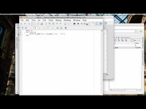 FOR loops in MATLAB: Using loops for plotting