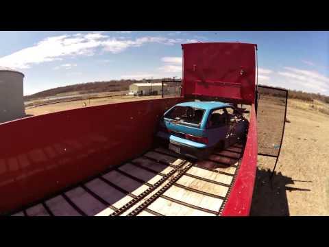 Artex Car Crush - CB1200 vs Geo Metro