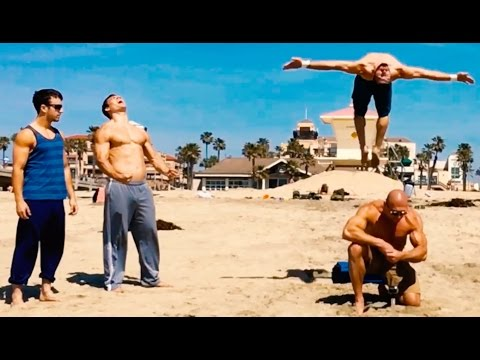 Epic 2016 Superhuman Beach Athlete Compilation- Huntington Beach