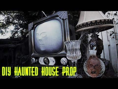 DIY Haunted House Prop (Tower of Terror Themed)