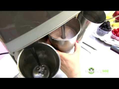 Making Strawberry Banana Milkshake