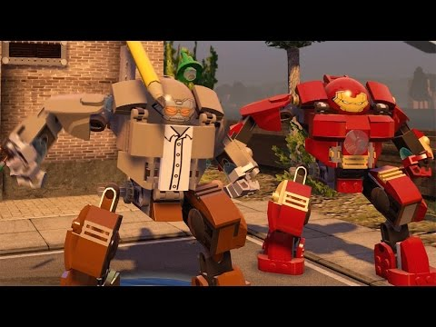 LEGO Marvel's Avengers - Stan Lee Unlock + Free Roam Gameplay (Character Showcase)