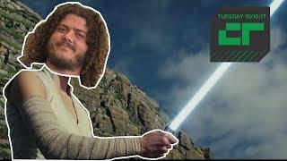 "New Star Wars ""The Last Jedi"" Trailer | Crunch Report"