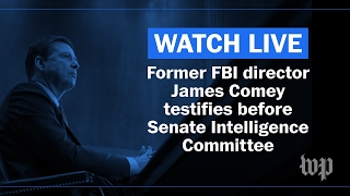 live former fbi director james comey testifies before congress