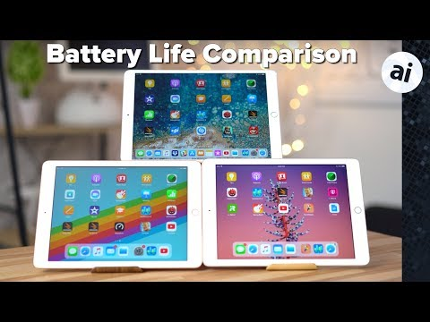 2018 iPad vs 2017 iPad & 10.5