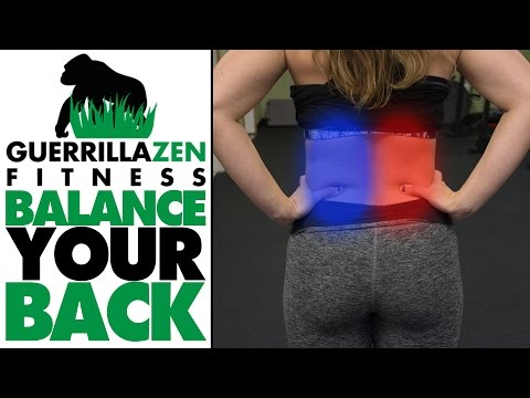 Back Pain Exercise | Tight Quadratus Lumborum? TRY THIS!