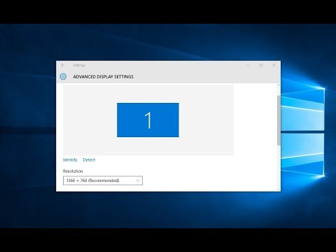 How to Change Screen Resolution and Text Size | Windows 10 Tutorial