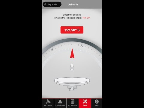 Abs Free Dish Installation App | All DTH Satellite Finder App | Easy to Use Ever in Hindi