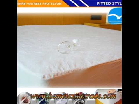 New Terry Towel Waterproof Fitted Sheet Mattress Protector Bed Pillow Cover