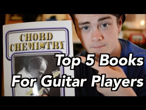 Top 5 Books For Guitar Players!