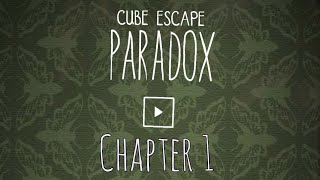 Cube Escape PARADOX Chapter 1 Walkthrough Rusty Lake