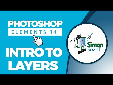 Introduction to Layers in Adobe Photoshop Elements 14