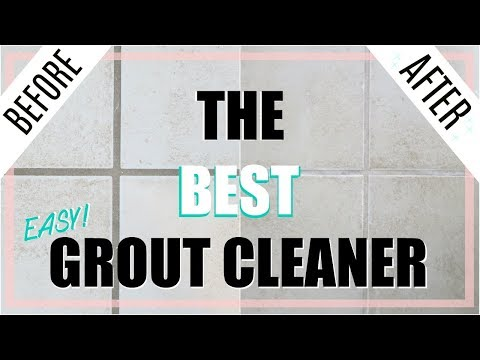 Quick Tip   Cleaning - BEST DIY Grout Cleaner *NO SCRUBBING!*