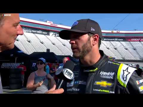 Johnson comments on conversation with Bubba Wallace