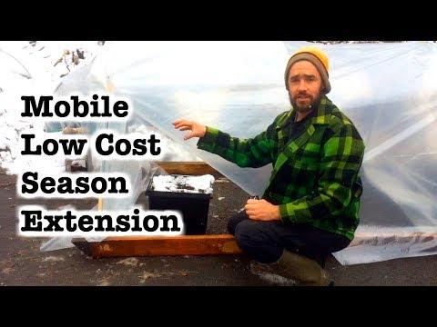 Mini Mobile Greenhouse for $20!