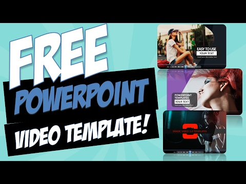 FREE Magic Video 3.0 PowerPoint Video Template