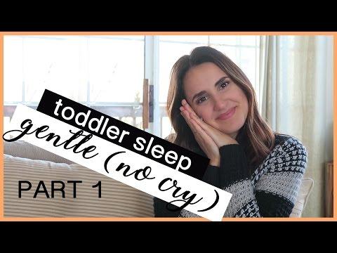 TEACHING MY TODDLER TO SLEEP | Gentle, No Cry Method