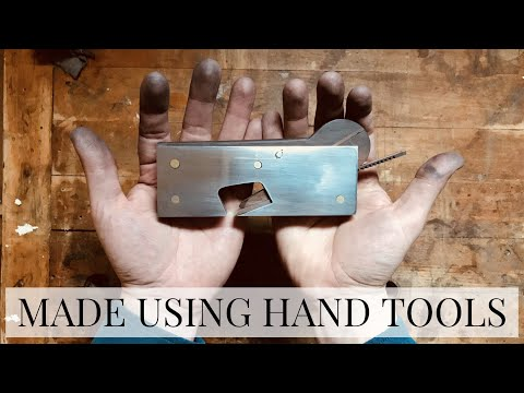 Build a Shoulder Plane using only Hand Tools! | Woodworking Plans Available