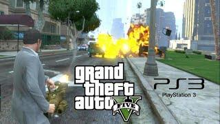 Grand Theft Auto V (PS3) Free-Roam Gameplay #1 [HD]