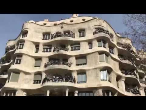 Casa Mila - La Pedrera Barcelona Spain