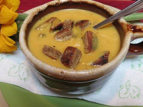 Chipotle Infused Squash Soup Recipe -- The Frugal Chef