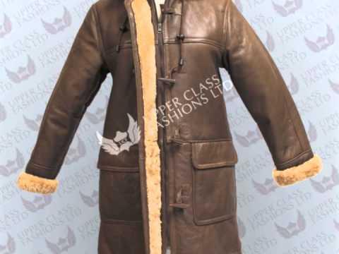 Leather jacket Sheepskin coat