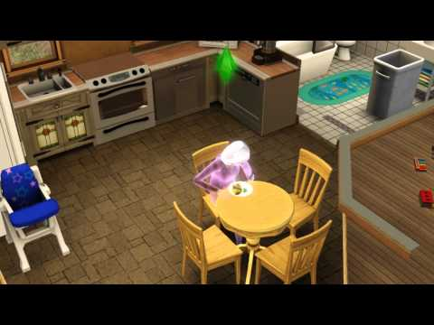 Sims 3 - Ghost Sim Becomes Human